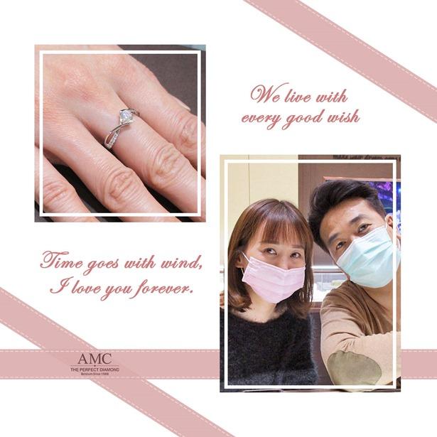 AMC鑽石婚戒-AMC高品質對戒-婚戒-結婚對戒推薦-情侶戒指