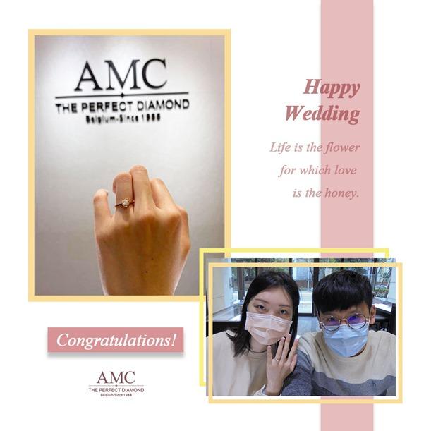 AMC鑽石婚戒-AMC高品質對戒-婚戒-結婚對戒推薦
