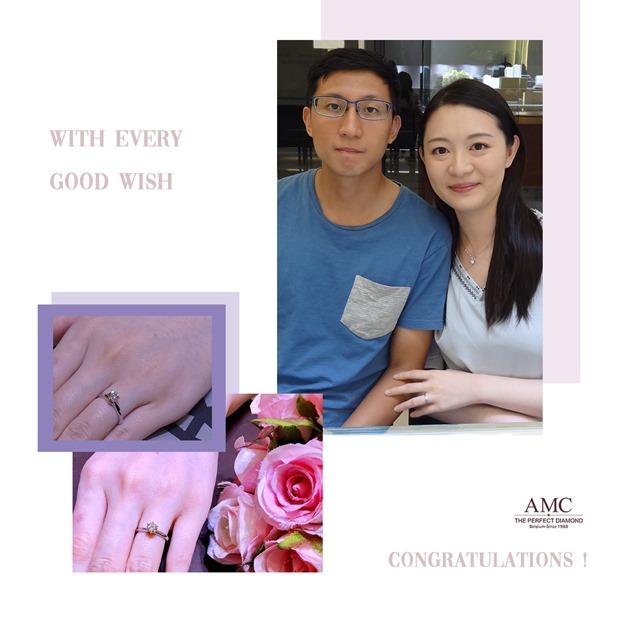 AMC鑽石婚戒-好評婚戒品牌-CP值超高婚戒品牌-AMC高品質對戒,訂婚鑽戒,結婚對戒,求婚鑽戒,婚戒推薦