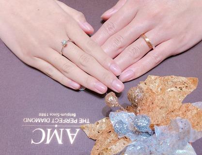 AMC鑽石婚戒 推薦 結婚 對 戒 求婚 鑽戒 結婚 對 戒 求婚鑽戒 結婚對戒推薦 (2)