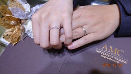 AMC鑽石 情侶戒指 鑽石 項鍊 鑽石 結婚對戒 線戒 求婚 鑽戒
