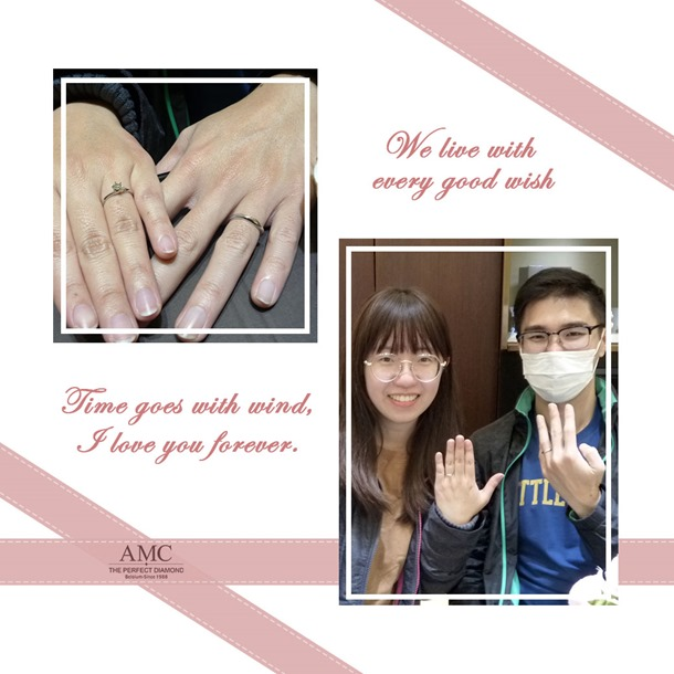 AMC鑽石婚戒-婚戒推薦 鑽石-結婚對戒-求婚鑽戒-鑽石推薦-結婚-對-戒