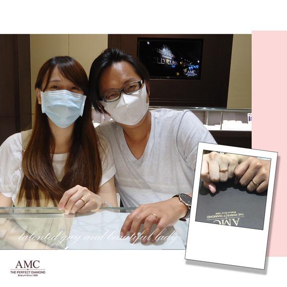 AMC鑽石婚戒 平價婚戒品牌推薦 結婚對戒推薦 GIA鑽戒 求婚鑽戒 訂婚鑽戒