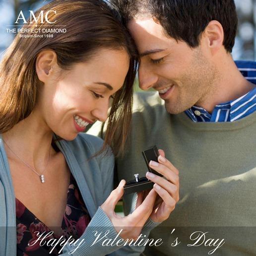 AMC鑽石婚戒鑽戒對戒情人節Happy Valentine's Day 1040x1040