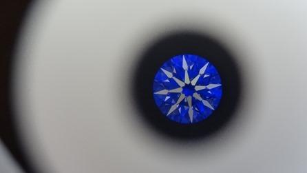 AMC鑽石婚戒鑽戒GIA八心八箭2