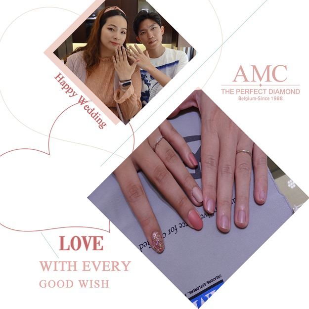 AMC鑽石婚戒 好評婚戒品牌 CP值超高婚戒品牌AMC高品質對戒,訂婚鑽戒,結婚對戒,求婚鑽戒,婚戒推薦