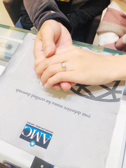 AMC鑽石婚戒 結婚 對 戒 求婚鑽戒 婚戒 對戒  GIA鑽戒  AMC鑽石