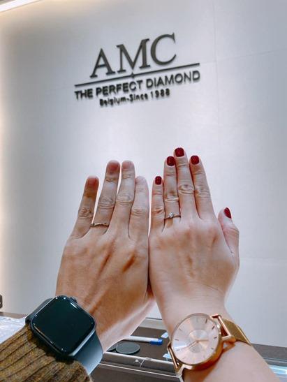 AMC鑽石婚戒鑽戒推薦-AMC鑽石婚戒 一克拉 鑽戒 鑽戒 價格 結婚對戒推薦