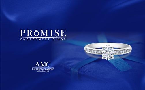 AMC鑽石婚戒鑽戒對戒結婚鑽戒求婚鑽戒PROMISE