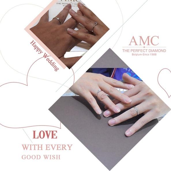 AMC鑽石婚戒 平價婚戒品牌推薦 結婚對戒推薦 GIA鑽戒 求婚鑽戒推薦, 訂婚鑽戒,結婚對戒,婚戒推薦